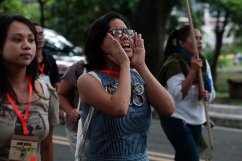 2010 protest in the Philippines