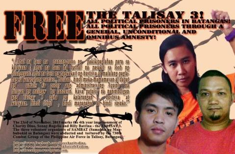 Free the Talisay 3